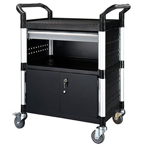 Servicewagen, Werkzeugwagen, Werkstattwagen mit Unterschrank, Schublade KR-450