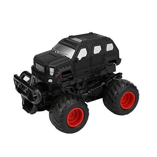 Pottoa Cars Spielzeug - Mini Vehicle Pull Back Cars mit Big Tire Wheel - Kreative Geschenke für Kinder - Cartoons Spielzeug Kleinkinder Puzzle Pädagogisches Spielzeug (Schwarz)