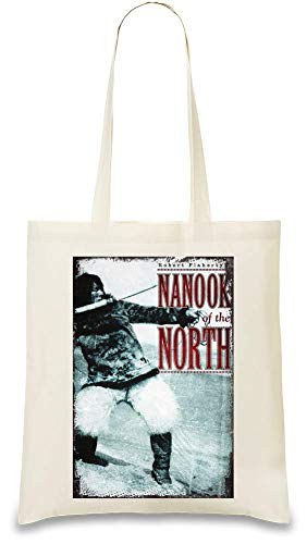 Nanook des Nordens - Nanook Of The North Custom Printed Tote Bag| 100% Soft Cotton| Natural Color & Eco-Friendly| Unique, Re-Usable & Stylish Handbag For Every Day Use| Custom Shoulder Bags By Design