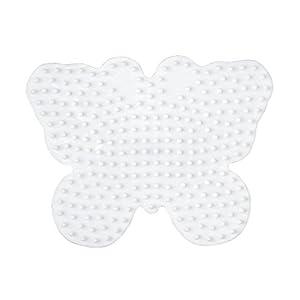 Hama Perlen 298  - Pared perforada mariposa
