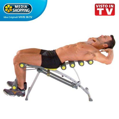 Tb trainer total body panca multifunzione allenamento for Vaporella mediashopping