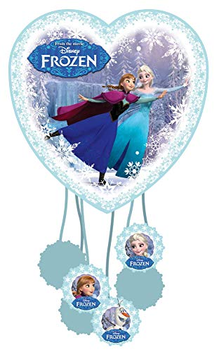 amscan 999271 Pinata Frozen, Mehrfarbig