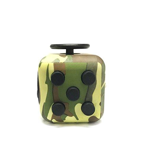 Fidget Cube Ceavis entlastet Stress und Angst für Kinder und Erwachsene Spielzeug Weihnachtsgeschenke (Fidget Cube, Camouflage Green) Fidget Erwachsenen