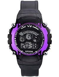 JK Round Black Analog Watch For Men & Boys (BOYPARPAL,Multicolor)