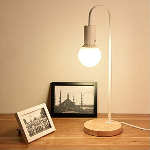 Base madera Lámpara mesa Lámparas escritorio Estudio
