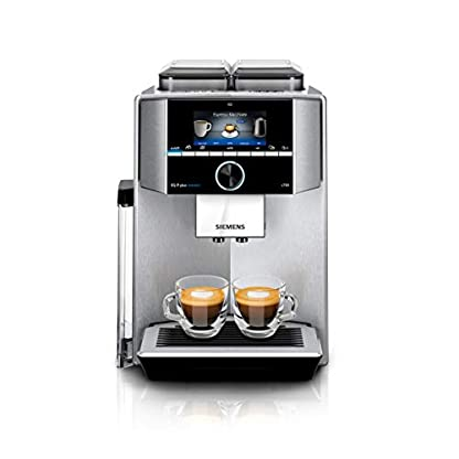 Siemens-TI9555X1DE-EQ9-plus-connect-s500-Kaffeevollautomat-1500-W-HomeConnect-1-Bohnenbehlter-groes-TFT-Display-Baristamodus-Edelstahl
