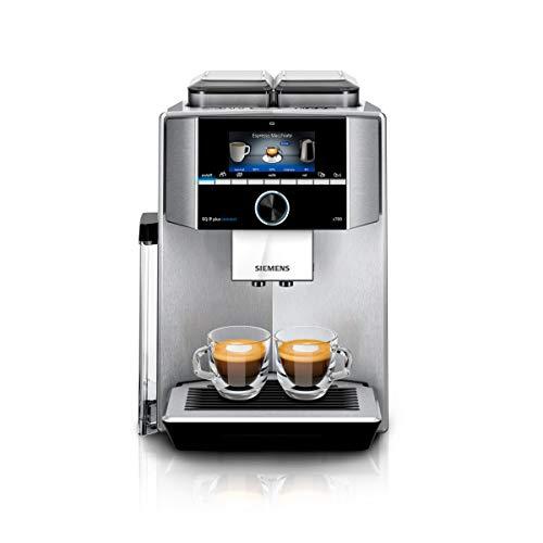 eq6 plus s700 Siemens TI9575X1DE EQ.9 plus connect s700 Kaffeevollautomat, 1500 W, HomeConnect, 2 Bohnenbehälter, großes TFT-Display, Baristamodus, Edelstahl