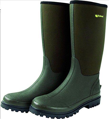 Wychwood Neopren 3/4 Länge Wasserdichte Stiefel Größe UK 12 (3/4-länge-stiefel)