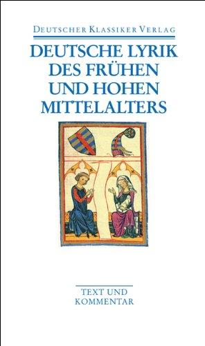 Deutsche Lyrik des frühen und hohen Mittelalters (DKV Taschenbuch)
