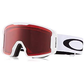 Oakley Herren Lineminer 707016 0 Sportbrille Weiß (Matte White/Prizmgogglerose) 99