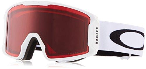 Oakley Herren Lineminer 707016 0 Sportbrille, Weiß (Matte White/Prizmgogglerose), 99