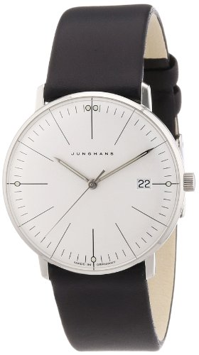 Junghans Women's Quartz Watch Max Bill 047/4251.00 with Leather Strap