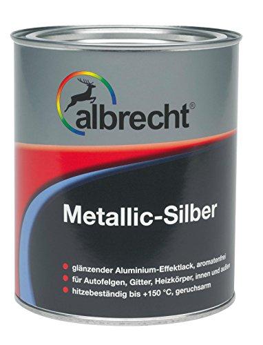 Albrecht Glänzender Aluminium-Effektlack