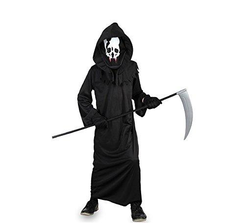 Fyasa 706020-t03Skelett Toga Kostüm, Mittel