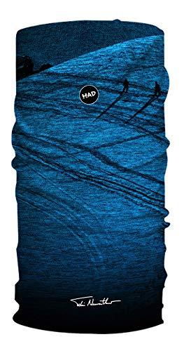 Had Unisex- Erwachsene Multifunktionstuch, Powderday Blue by Felix Neureuther, One Size