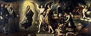 Bartolome Esteban Murillo – La Cuisine des Anges 1646 Bartolome Esteban Murillo (1617-1682/ Spanish) Oil on canvas Musee du Louvre Paris Poster (45,72 x 60,96 cm)