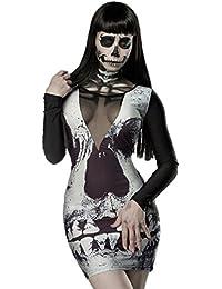 Skull Minikleid