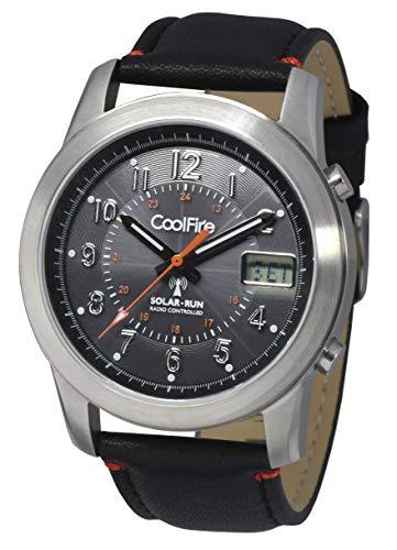 COOLFIRE I - Reloj Solar atómico. Reloj controlado por Radio Solar Militar (1534B)