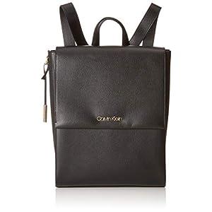 41gJZWSoFlL. SS300  - Calvin Klein - Avant Backpack, Mochilas Mujer, Negro (Black), 16x37x28 cm (B x H T)