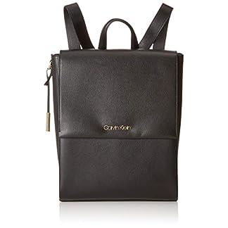 Calvin Klein – Avant Backpack, Mochilas Mujer, Negro (Black), 16x37x28 cm (B x H T)