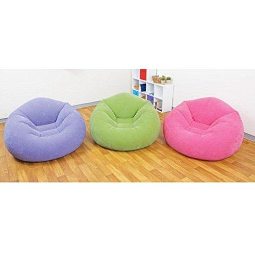 Intex Beanless Bag Chair, Rosa 107x104x69cm