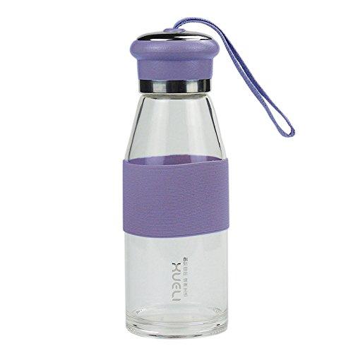 Mi favorita de los amantes Botella de agua portátiles (450 ml) de vid