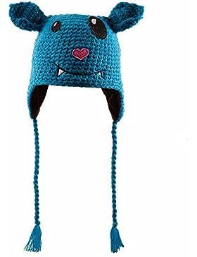 Funny Monster Berretto Chillouts berretto a maglia bambini berretto peruviano