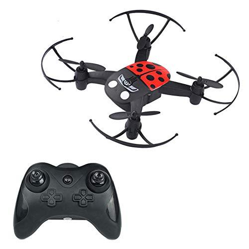 Tragbar Hubschrauber Quadrocopter Headless Mode Mini-Fernbedienung vierachsige Flugzeuge und Indoor und Outdoor fliegenden Drohne Helikopter Modell Spielzeug perfektes Geschenk für Kinder