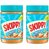 Skippy Peanut Butter Creamy, 462g, Pack of 2, Product of USA