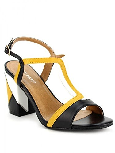 Cendriyon, Sandale PATCHOURKS Jaune Chaussures Femme Jaune