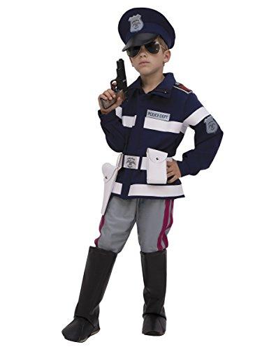 Poliziotto lusso bambino 9/10 anni (134/140)