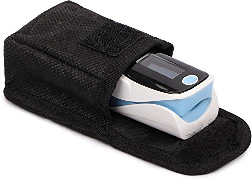 NISCOMED Fingertip Pulse Oximeter with Beep Alarm, Spo2 and Pouch