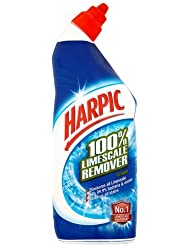 Harpic Toilet Cleaner 100% Limescale Remover 750ml - Fresh