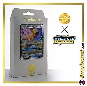 Persian-GX 149/214 - #myboost X Soleil & Lune 10 Alliance Infaillible - Box de 10 cartas Pokémon Francés