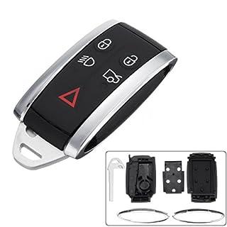 Coque de remplacement pour Plip de verrouillage à distance sans clé Automobile Locksmith avec lame vierge pour Jaguar X Type S XF XK XKR
