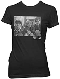 4d6f4b62e Amazon.co.uk: Nirvana - Tops & Tees / Band T-Shirts & Music Fan ...