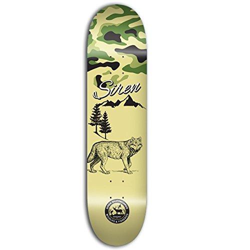 Siren Wildlife 2Wolf Skateboard Deck