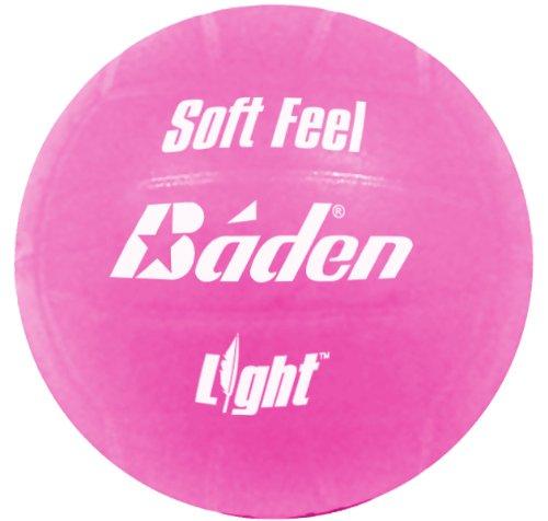 Baden Soft Feel - Pelota de voleibol, tamaño 5, color rosa