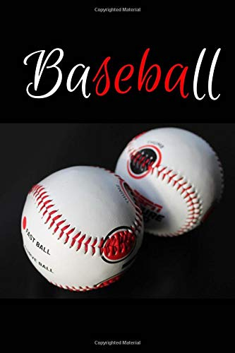 Baseball: Training Journal 6 x 9 100 pages (can also be used for a journal for boys) por Ana B Thomas