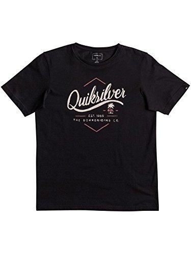 Quiksilver Ss Classic Tee Youth Sea Tales Camiseta, Niños
