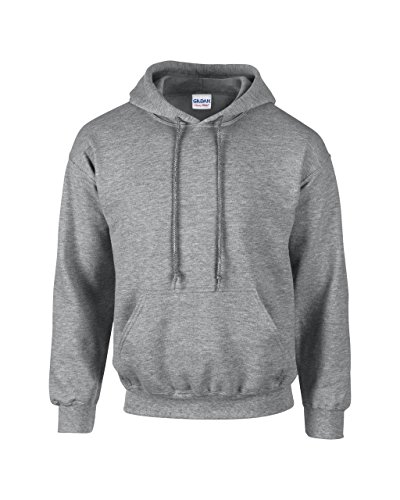 Gildan: Heavy BlendTM Hooded Sweat 18500 Grigio