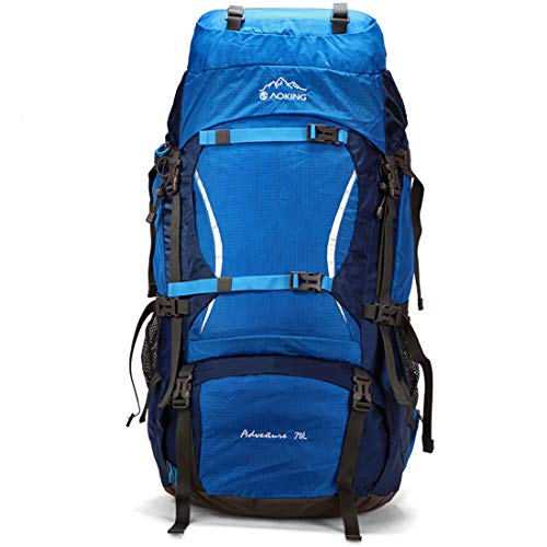 LHQING Zaino da Trekking Ultraleggero, Zaino da Campeggio Pieghevole per Il Tempo Libero Leggero e Pieghevole, Zaino da Viaggio, Arrampicata, Alpinismo, Sport all'aperto