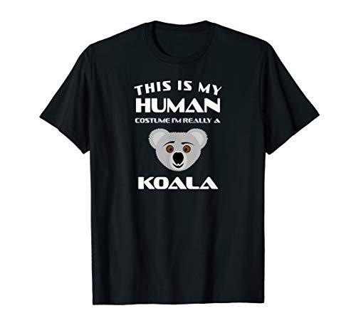 Koala Kostüm Tier Spruch Geburtstag Eukalyptus Spaß Geschenk T-Shirt