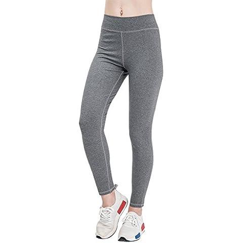 Fitglam Collant Leggings Yoga pantaloni allenamento della mutanda pantaloni elastiche delle donne attivi in esecuzione di esercitazione di ginnastica