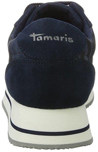 Tamaris 23705, Scarpe da Ginnastica Basse Donna Blu (NAVY COMB 890)