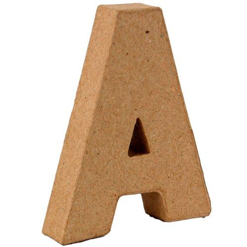 country-love-crafts-4-inch-10cm-3d-letter-a-papier-mache