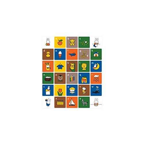 Preisvergleich Produktbild IXXI Mosaikbild Kids Miffy ABC (Englisch) (20 x 20 cm)
