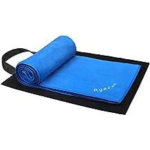 Ryaco [Rapida essiccazione] Sport asciugamano, tovagliolo di viaggio, microfibra Towel - assorbente eccellente e di qualità Premium! per il campeggio, spiaggia, piscina, palestra, fitness, yoga, nuoto, pilates, Bikram con resistenza Free Water Storage Bag