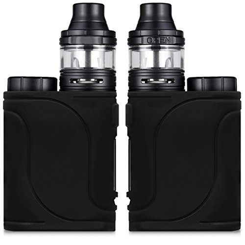 Custodia per Eleaf iStick Pico 25 Kit - kwmobile case protettiva in silicone TPU - astuccio per kit batteria e-cig - nero