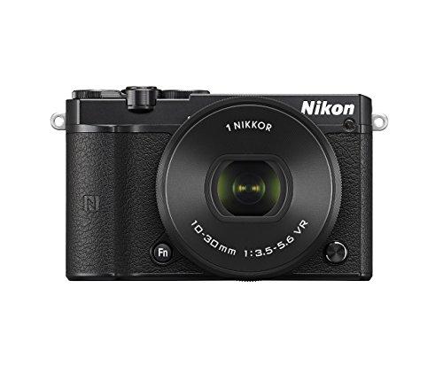 Nikon VVA241K001 1 J5 Compact System Camera (20.8 MP, 10-30 mm PD-Zoom Lens Kit, 4K Movie Shooting) - Black